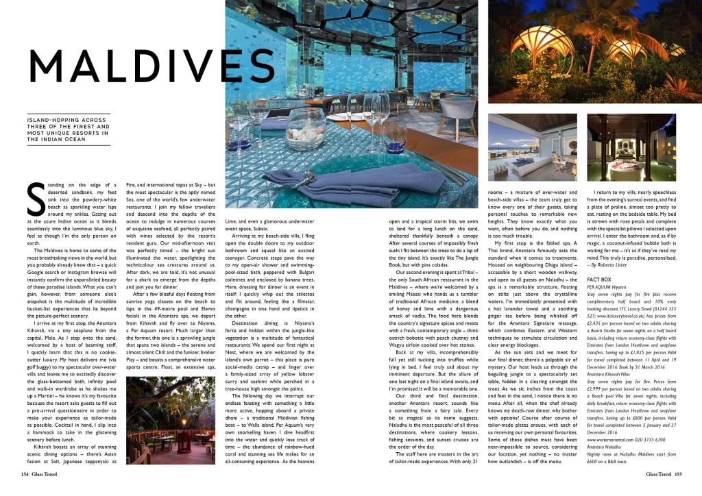 ZF Glass Magazine - Issue 24 - Youth - Travel Maldives-page-001