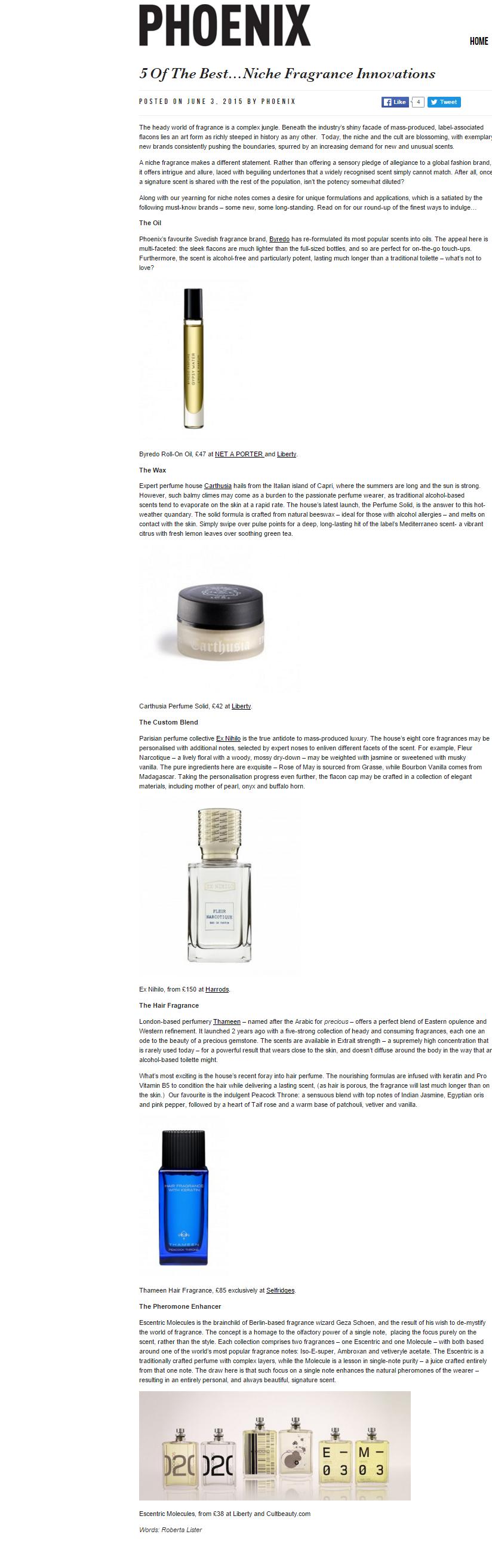 niche fragrance